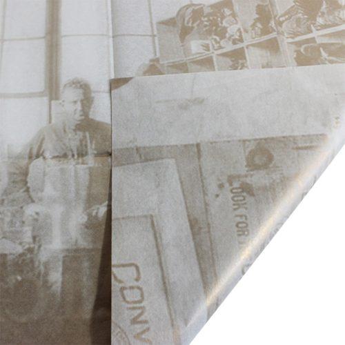 seidenpapier braun grau