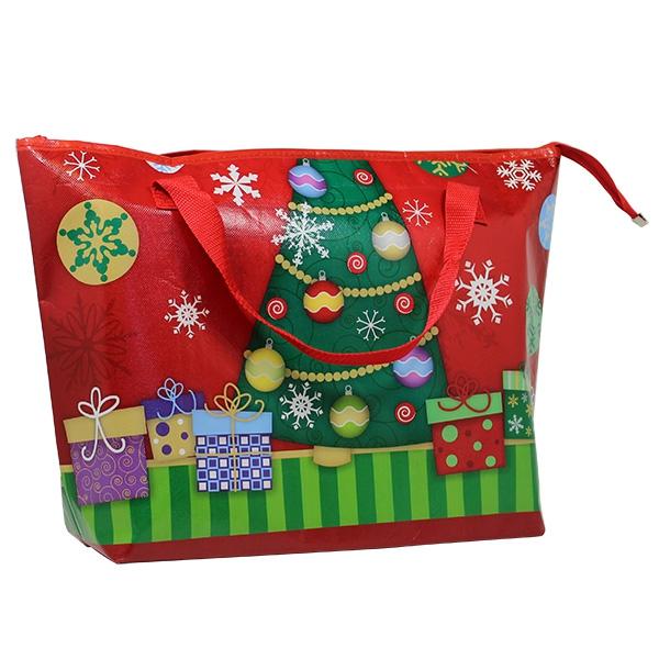 weihnachts muster kühltasche rot grün