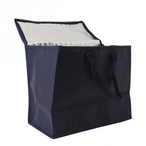 kühltasche marineblau isoliert
