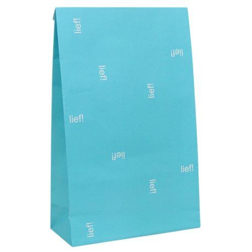 papier tüte blau weiss