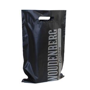 schwarz plastik tasche