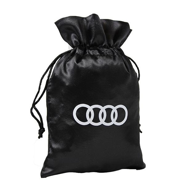 schwarz beutel audi logo weiss