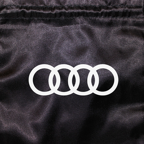 logo audi schwarz weiss