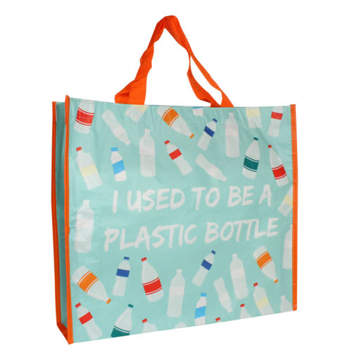 tragetasche aus recyceltem PET bunt flaschen
