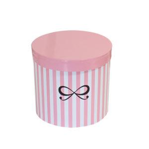 runde box pink weiss hunkemüller