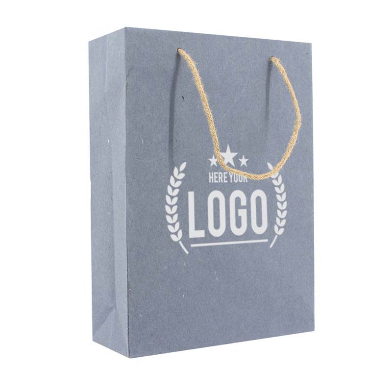 zerotree tragetasche blau kordel logo weiss