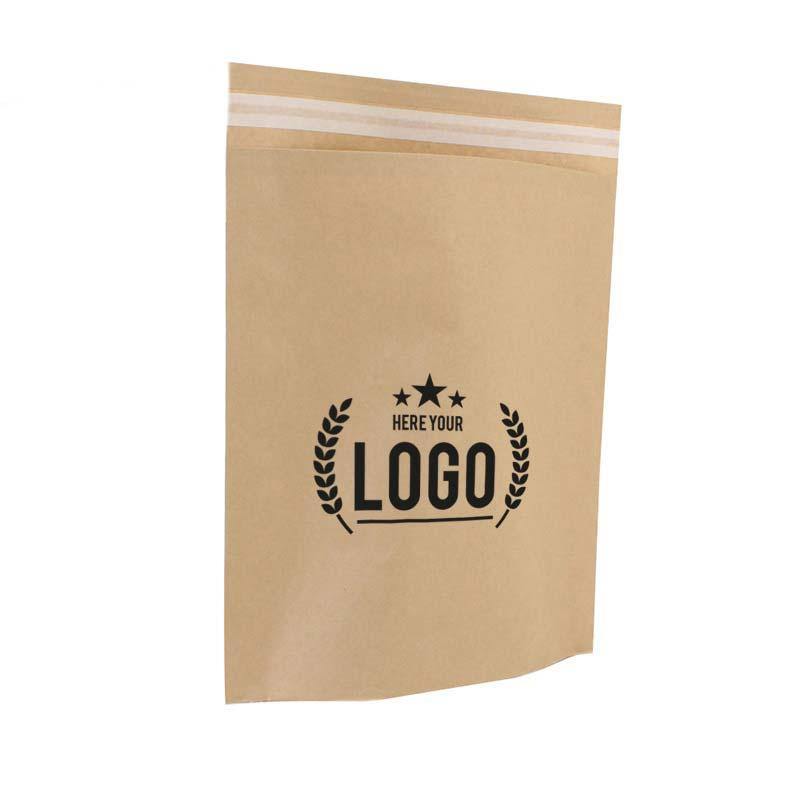 braun papier tasche logo
