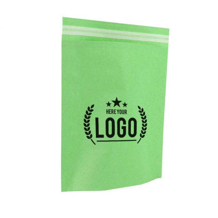 grün papier tasche logo