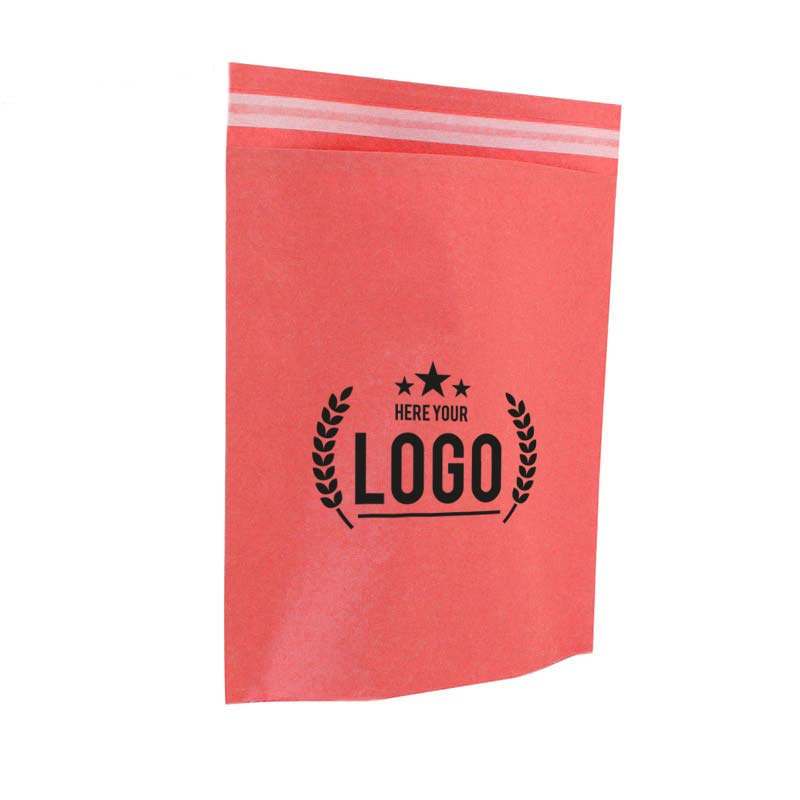 orange papier tasche logo